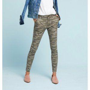 Camo slim fit utility pants